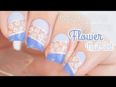 "Negative Space Flower Nail Art || using the Mitty dotting tool - http://47beauty.com/nails/index.php/2016/10/20/negative-space-flower-nail-art-using-the-mitty-dotting-tool/ http://47beauty.com/nails/index.php/nail-art-designs-products/  Hello Everyone! In this video I show you how to do negative (glitter) space with dotted flower print, using the Mitty ""Lots Of Dots"" dotting tool. Enjoy! —————– Products used: Dotting Tool https:"