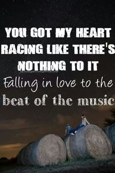 Beat of the Music - Brett Eldredge.