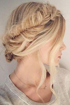 最美的新娘髮型竟然可以自己 DIY?!