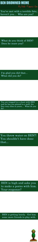 BEN DROWNED Meme by Hells-Princess-Cra