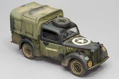 Austin Tilly – Joaquín García Gazquez – A Modelling View Custom Hot Wheels, Model Tanks, Arte Horror, Armored Vehicles, Skin So Soft, Tamiya, Scale Models, Military Vehicles, Ww2