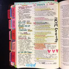I'm journaling Psalm 71 today. Do you ever feel weary? Like your strength is just spent? If not, please share your secret! The last few days I have been absolutely dragging. So I'm praying that the Lord will REVIVE me again. And if you're in the same bo Faith Scripture, Scripture Study, Bible Art, Bible Scriptures, My Bible, Bible Study Notebook, Bible Study Journal, Art Journaling, Bujo Inspiration