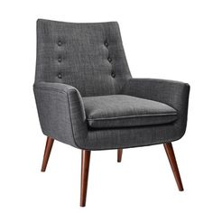 Adesso Addison Arm Chair & Reviews | Wayfair