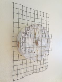 wire,painted wood, sculpture,by axel stohlberg