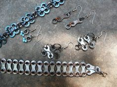 art from recycled bike parts - Google Search