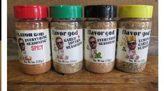 The Flavor God Quad Squad!!!