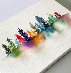 watercolor art / watercolor art ` watercolor art for beginners ` watercolor art easy ` watercolor art ideas ` watercolor art for beginners simple ` watercolor art abstract ` watercolor artists ` watercolor art landscape Watercolor Trees, Watercolor Cards, Watercolor Illustration, Watercolor Landscape, Tattoo Watercolor, Watercolor Animals, Watercolor Background, Watercolor Artists, Watercolor Portraits