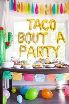 Fiesta Theme Party Discover Items similar to Mexican Fiesta Party Tassel Garland with Jute Twine Mexican Blanket Colors Backdrop Taco Party Cinco de Mayo Photo Prop Party Decoration on Etsy Mexican Birthday Parties, Mexican Fiesta Party, Fiesta Theme Party, Trains Birthday Party, Taco Party, 30th Birthday Parties, 2nd Birthday, Colorful Birthday Party, Home Birthday Party Ideas
