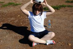 Yata Misaki Middle school cosplay - gym vers by nyanrnia