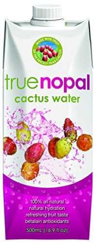 True Nopal Cactus Water, 16.90 Fluid Ounce (Pack of 12) >>> Read more  at the image link.  This link participates in Amazon Service LLC Associates Program, a program designed to let participant earn advertising fees by advertising and linking to Amazon.com.