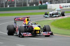 Red Bull at the Melbourne Grand Prix