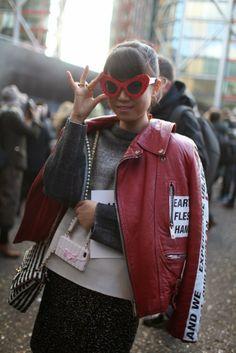 Mis Queridas Fashionistas: Street Style: London Fashion Week Fall/Winter 2014