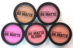 @City Color Cosmetics Be Matte Blushes