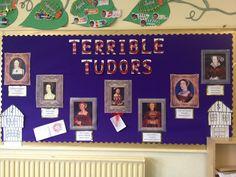 Tudors School Displays, Year 6, Tudor, Ideas Para, School Ideas, Photo Wall, Museum, Map, Frame