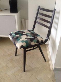 Next renovated chair - Rubin by Jitona Sobeslav (Chechslovakian 1971)