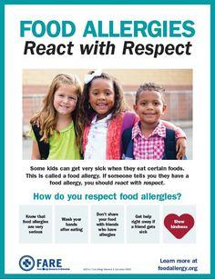 2016 Food Allergy Awareness Week - Food Allergy Research & Education