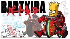 :: CATSUKA :: News - Bartkira - The Animated Trailer (projet de fan)