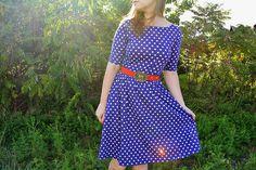 Miss Make: Polka Dot Moneta Dress