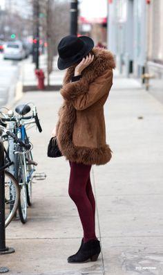 Chicago street fashion, venus in fur