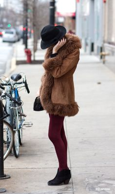 Chicago street fashion, venus in fur