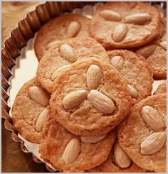 Butter Cookies with Almonds.