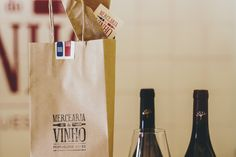 Portuguese wine shop based in the city centre of Lisbon. An independent family-run wine shop that specialises in finding the best wines Portugal has to offer. Paper Shopping Bag, Wines, Packaging, Wrapping