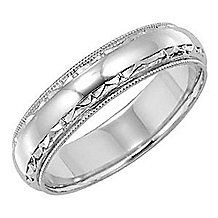 Stunning Lieberfarb 5mm Men's Wedding Band