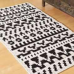 Crochet Rug Patterns T Shirt Yarn Doilies 58 Ideas Crochet Rug Patterns, Crochet Motifs, Crochet Diy, Crochet Home Decor, Crochet Rugs, Diy Carpet, Rugs On Carpet, Cheap Carpet, Stair Carpet