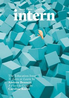 """Intern Magazine, issue summer The Education Issue cover photograph: """"Making the Jump"""" by Luke Evans Magazine Design, Magazine Wall, Cool Magazine, Magazine Covers, Magazine Layouts, Book Design, Cover Design, Design Ideas, Design Inspiration"""