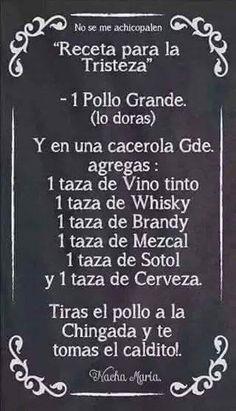 @aesquinca #lagozaderaenalfa es como esta receta para la tristeza