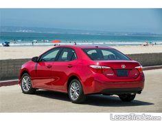 2016 Toyota Corolla LE Rear