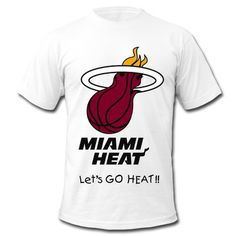 Sale!Miami Heat Logo Short Sleeve T-shirts online at HICustom.Free Shipping,Wholesale Price,No Minimums.