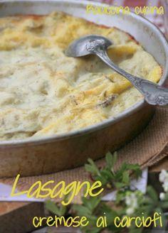 #lasagne ai carciofi#