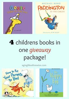 Brand new giveaway package! Enter to win 4 special children's books. Giveaway ends on 3/24/16.