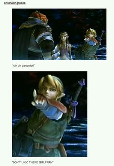 Link getting sassy