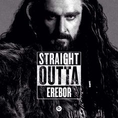 Richard Armitage as Thorin Oakenshield in The Hobbit movies