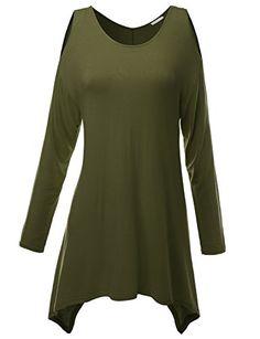 Doublju Knit Tunics in Fine Stretch Fabric KHAKI (US-S) Doublju http://www.amazon.com/dp/B00HHKM45U/ref=cm_sw_r_pi_dp_hBvrub0QGE1SM