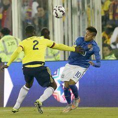 Four match ban for Neymar Jr in #CopaAmérica for incidents in game against Colombia  Neymar Jr, quatre partits de sanció per la picaparalla contra Colòmbia  Neymar Jr, cuatro partidos de sanción por el rifirrafe contra Colombia  #CA2015 #NeymarJr @neymarjr  Rafael Ribeiro - CBF