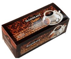 1 Gano Cafe Classic Black Coffee w Ganoderma Reishi Extract Halal for sale online Instant Coffee, Black Coffee, Dog Bowls, Latte, Classic, Ebay, Dio, Garden, World