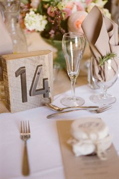 Table numbers - Gallery & Inspiration | Picture - 292051 - Style Me Pretty