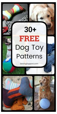 30+ DIY Dog Toy Sewing Patterns #dog #toy #sewing #patterns #dogtoysewingpatterns Dog DIY Toys: 30+ free dog toy diy projects, tutorials, and sewing patterns. Make your own homemade, unique dog toys. Fun, cute ideas for large and small stuffed toys, balls, and plush toys. #SewingSupport #Dog #Toys #Diy #Projects #Sewing #Patterns Homemade Dog Toys, Diy Dog Toys, Best Dog Toys, Pet Toys, Toy Diy, Baby Toys, Outdoor Dog Toys, Dog Clothes Patterns, Sewing Patterns