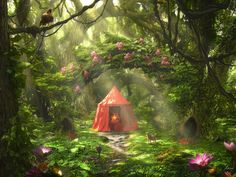 The Red Tent by Rowye.deviantart.com on @DeviantArt