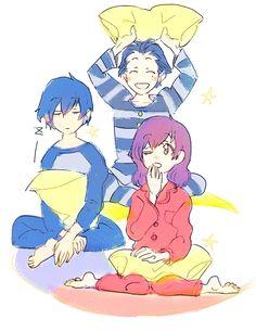 Minato & Minako & Ryoji ⭐️