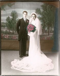 """I would like a classic wedding photo, like ones from the """"old days"""""""