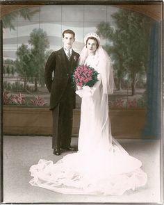 Beautiful classic wedding photo