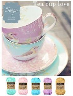 Dit leuke garenpakket koop je op www.garenwinkelhenja.nl! Yarn Color Combinations, Colour Schemes, Color Patterns, Colour Pallette, Color Palate, Colours That Go Together, Ideias Diy, Design Seeds, Colour Board