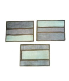 Set Of 3 Rubber Based Jute Doormate Rugs On Carpet, Carpets, Jute, Frame, Home Decor, Farmhouse Rugs, Picture Frame, Rugs, Decoration Home