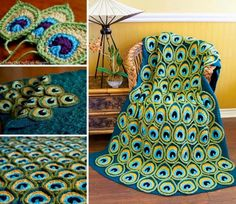 Peacock Feather Applique – Free Pattern & Video Tutorial