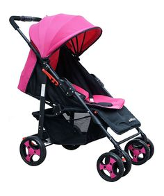 Pink Sporty Deluxe Stroller