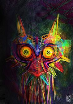 The best of the best: Fan art of Zelda's Majora's Mask. Best of: Zelda Majora's Mask Fan Art The Legend Of Zelda, Legend Of Zelda Quotes, Link Zelda, Bioshock, Geeks, Yandere, Majora Mask, Zelda Tattoo, Fan Art